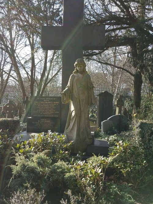 Highgate Cemetery East Side,London,Greater London