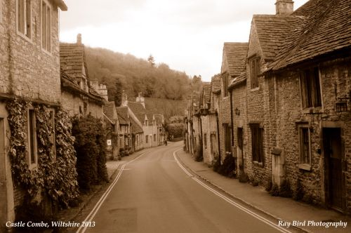 The Street, Castle Combe, Wiltshire 2013
