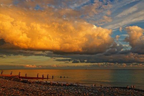 Spectacular Sundown, Worthing, West Sussex, England