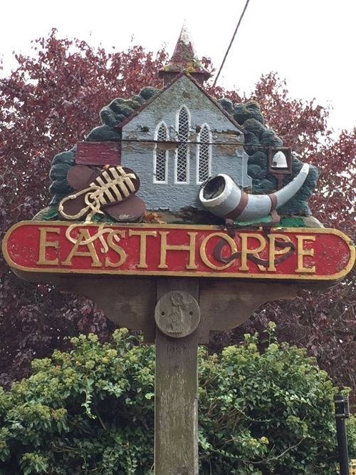Village Sign of Easthorpe, Essex
