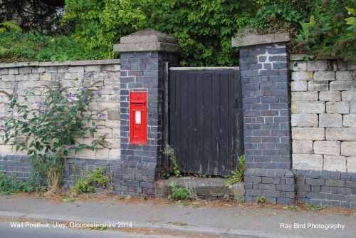 Wall Postbox, Uley, Gloucestershire 2014