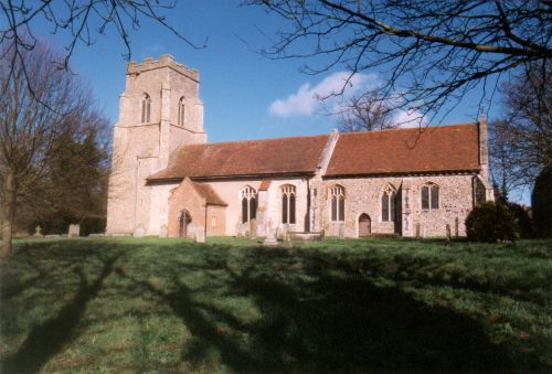Kettlebaston Church