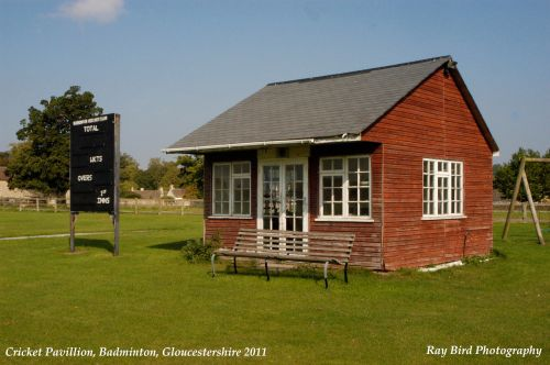 Cricket Pavilion, Badminton, Gloucestershire 2011