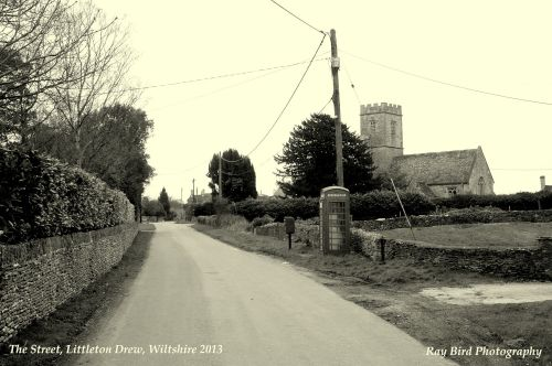 The Street, Littleton Drew, Wiltshire 2013