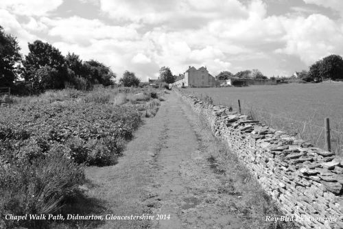 Chapel Walk Path, Didmarton, Gloucestershire 2014