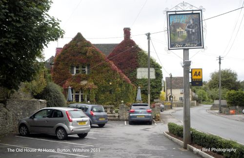 The Old House at Home Pub, Burton, Wiltshire 2011