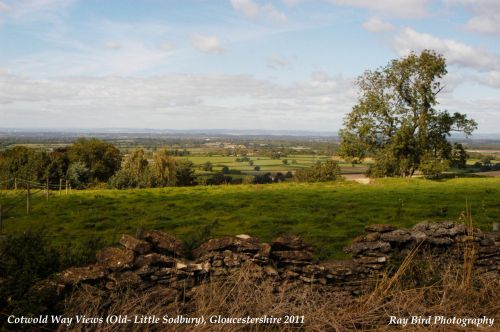 Cotswold Way View, Little Sodbury, Gloucestershire 2011