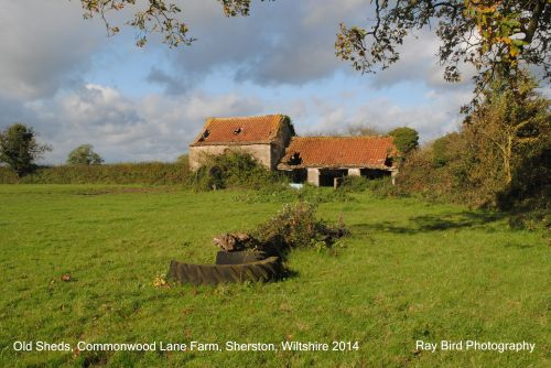 Old Farm Sheds, Commonwood Lane Farm, nr Sherston, Wiltshire 2014