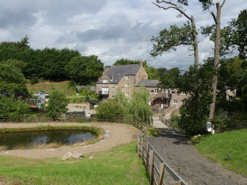 New Mills Trout fishing and restaurant,  Brampton, Cumbria