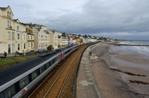 Dawlish beach, Devon