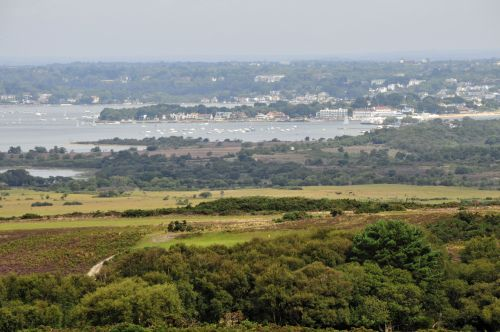 View over the Isle of Purbeck