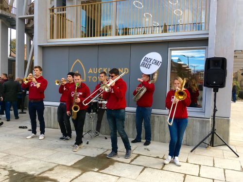 Opening of Auckland Tower in Bishop Auckland