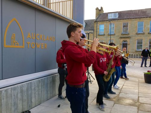 Band Opening of Viewing Tower Bishop Auckland