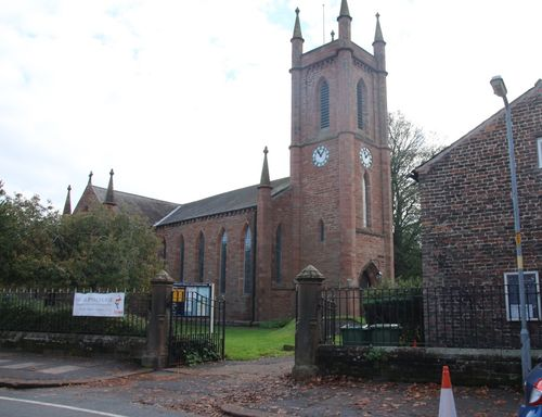 ST MICHAELS CHURCH, CARLISLE, CUMBRIA