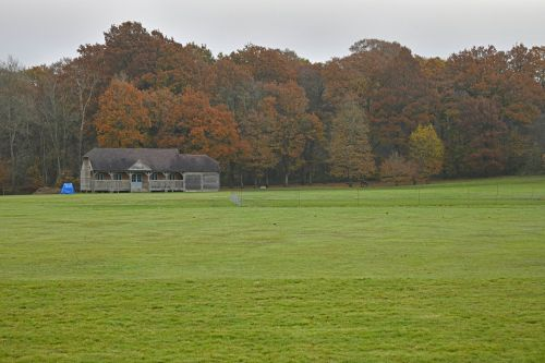 The Cricket Pitch at Sheffield Park Garden