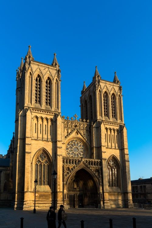 Bristol Cathedral, West Front