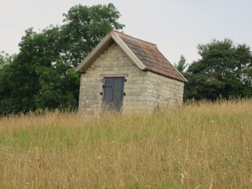 Powder House to store gun powder when the coal mines were operational