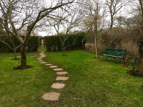 Pathway to the next garden Durham City.