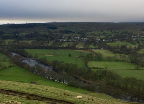 Christmas in Eagleston, in Teesdale, Co.Durham