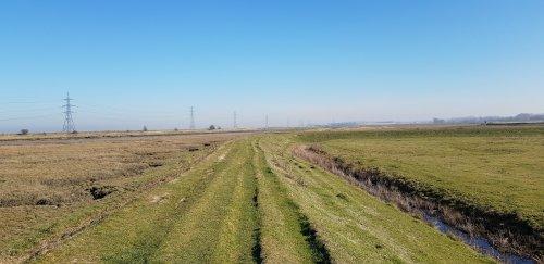 Oare Marshes near Faversham, Kent