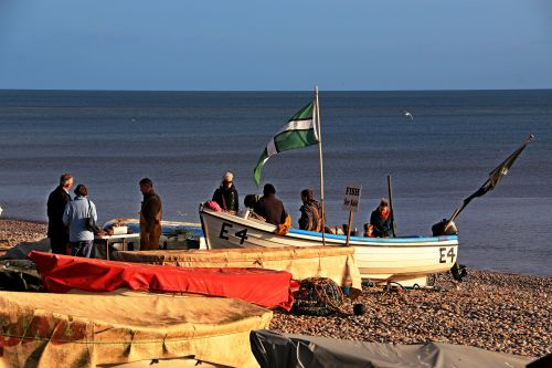 Budleigh Salterton Fish sellers