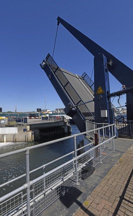 Lifting Bridge at Medway Maritime Marina, Chatham
