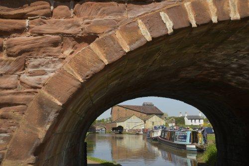 Bridge over the Shropshire Union Canal, Market Drayton, Shropshire