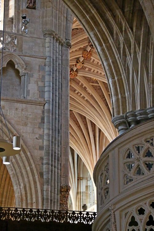 Exeter Cathedral Spiral Staircase