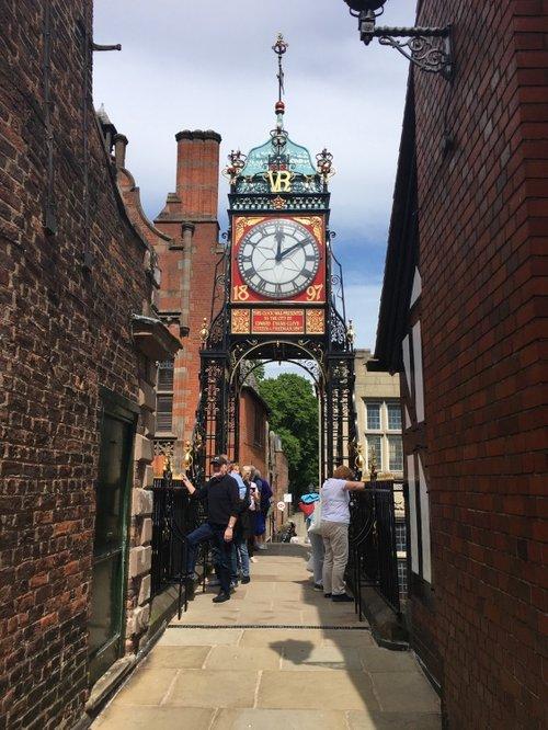 Chester. Eastgate clock.