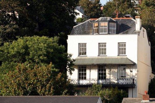 Lammas Park House in Dawlish, Devon, England