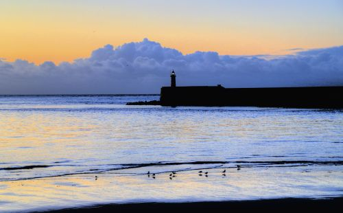 Newhaven Sunrise, East Sussex