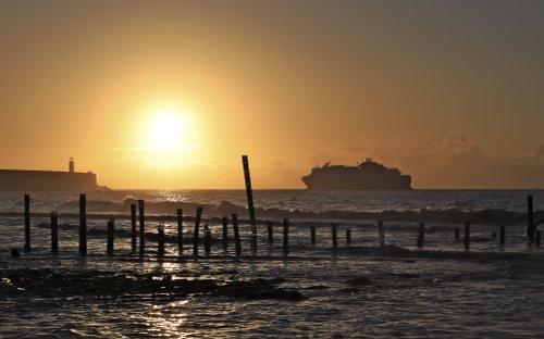 Newhaven Ferry Sunrise