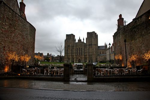 Wells on a wet day
