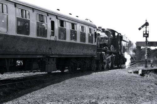 Bradley Manor Steam Train at Severn Valley Railway, Kidderminster