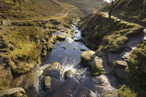 River Dane, Three Shires Head, Peak District National Park, Derbyshire