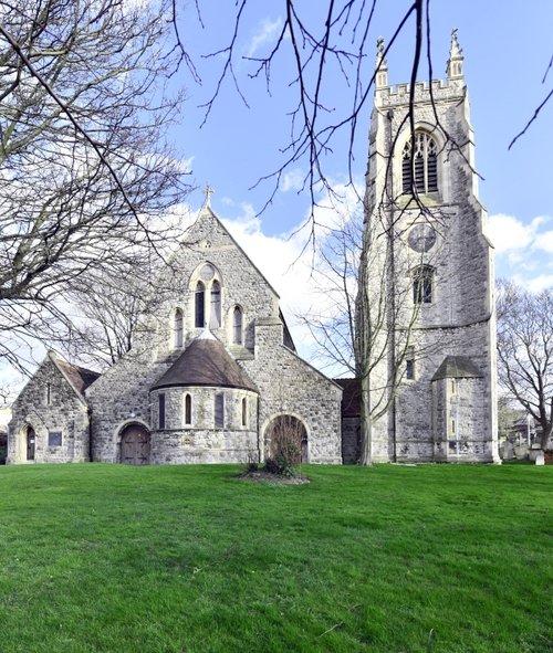 St, Mary;s Church, Chatham