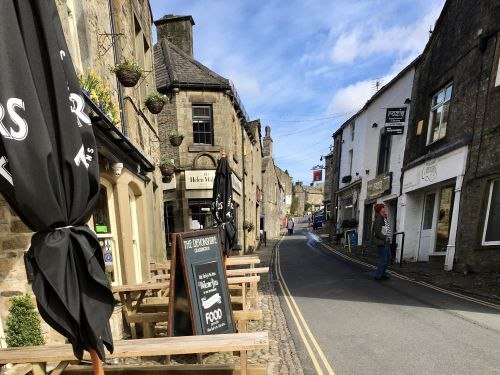 Street in Grassington, Yorkshire.