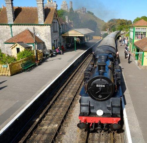 Corfe Station, Dorset..