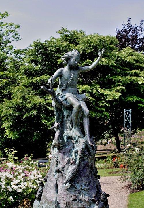 Peter Pan Statue, Botanical Gardens, Sheffield