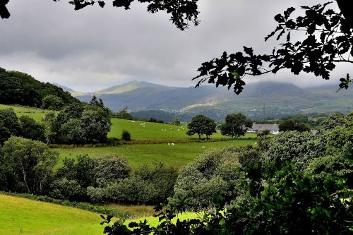 Snowdonia from Gellilydan