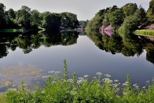 Lake at Nostell Priory, Wakefield