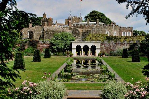 Queen Mothers Garden at Walmer Castle