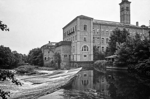 Salt's Mill beside the River Aire