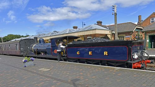North Norfolk Heritage Railway at Sheringham Station
