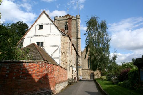 The Abbey museum and gift shop, Dorchester-on-Thames