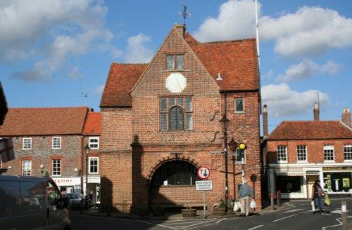 The 17th century town hall in Watlington