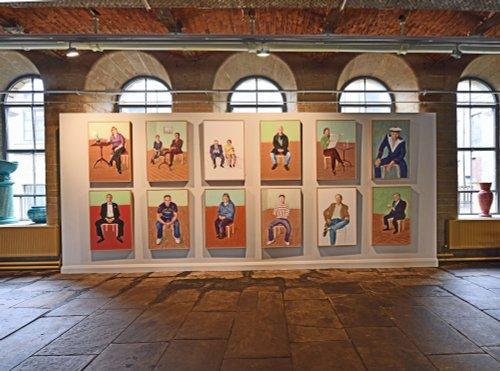 David Hockney paintings at Salts Mill exhibition