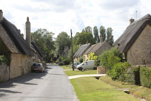 Cottages in Old Minster, Minster Lovell