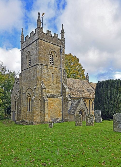St. Peter's Church, Upper Slaughter, Gloucestershire