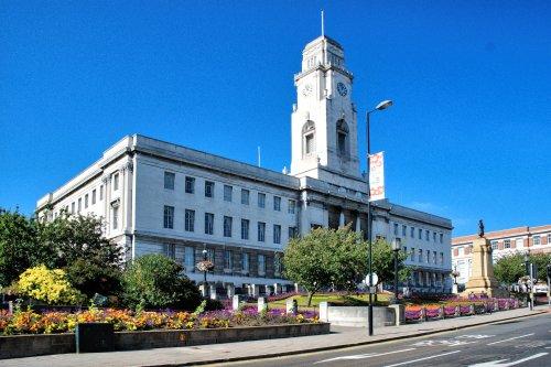 Barnsley Town Hall View